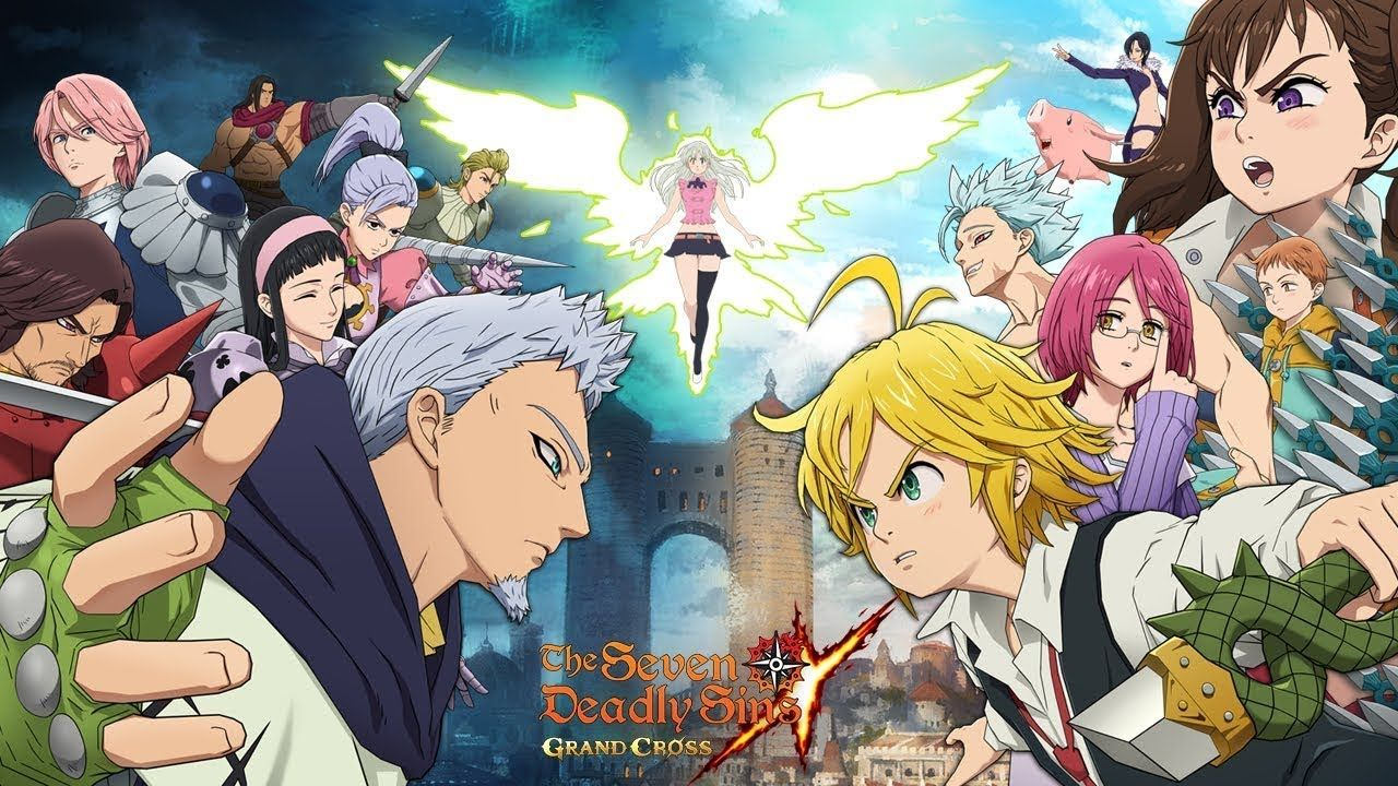 The Seven Deadly Sins Grand Cross 2 Android Gameplay Espanol En