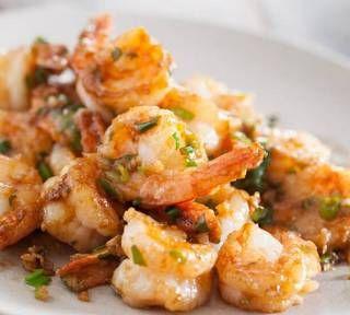 Garlic Shrimp Stir Fry