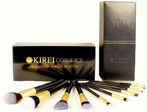 Kirei makeup brushes are amazing! Affordable and beautiful... And cruelty free! Makeup goes on smooth and easily, not extra buffing till your skin feels like it's on fire and turns red.