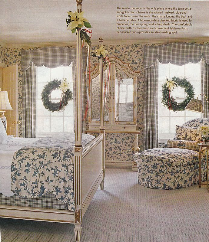 Hydrangea Hill Cottage French Country Decorating: Think This Is Either Colefax Or