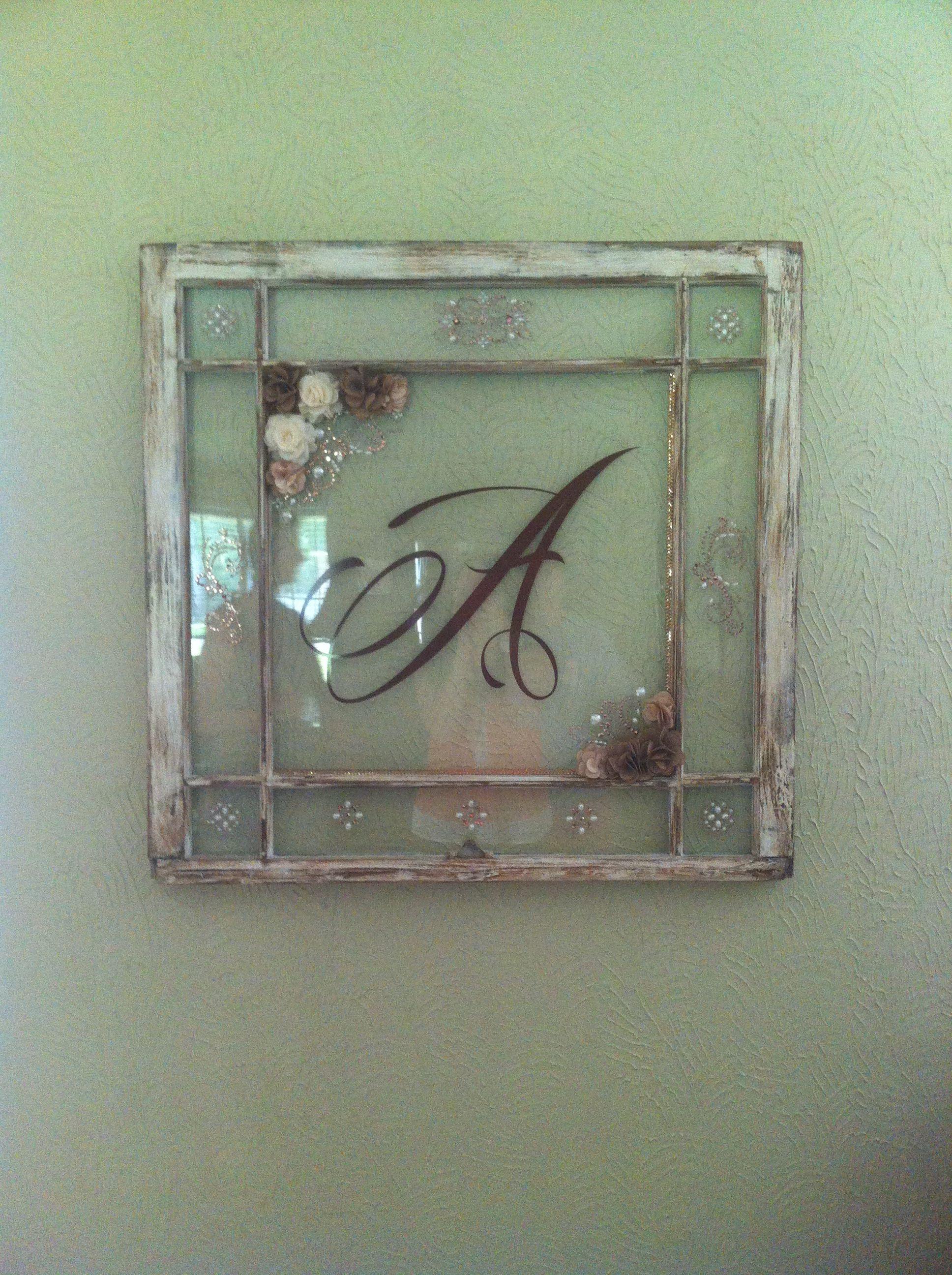Window pane! | Window crafts | Pinterest | Puertas antiguas ...