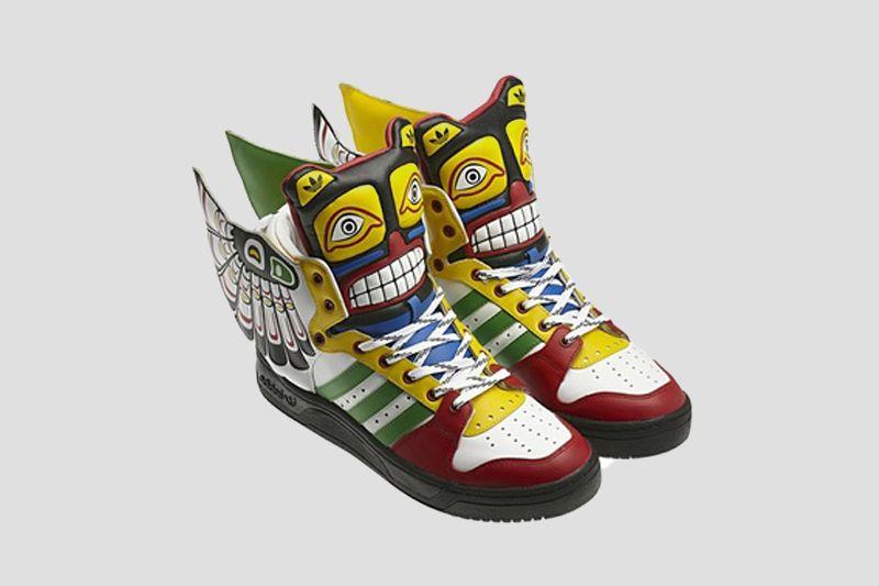829005c529ff Adidas Originals JS Bones Sneakers by Jeremy Scott