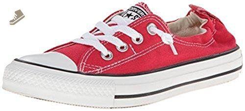 Converse Womens Shoreline Red 537083F