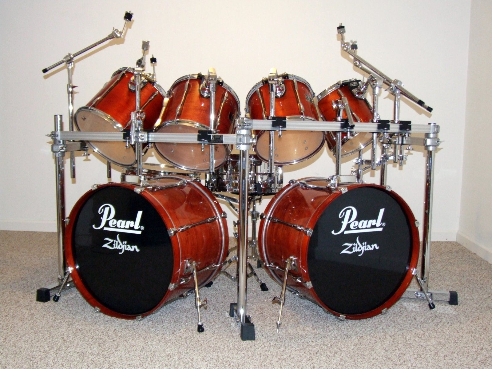 Pearl Double Bass Drum Set - Google Search