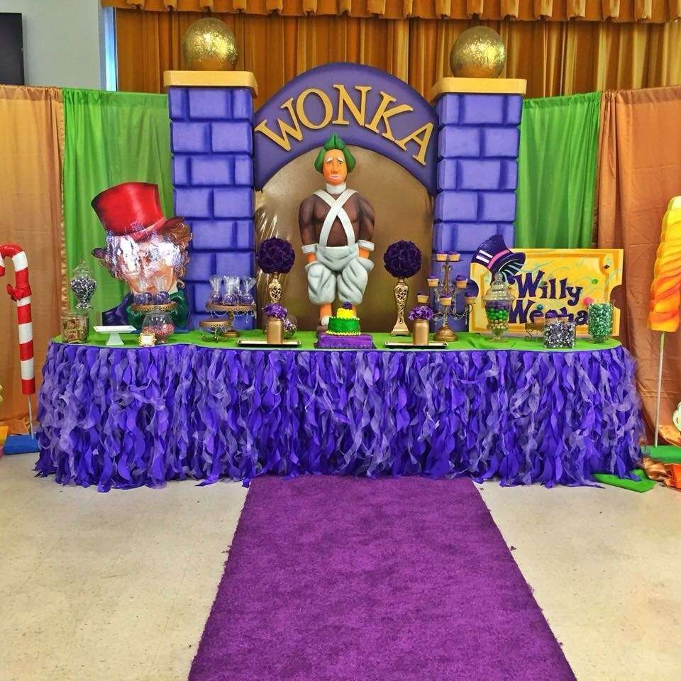 Wonka Birthday Party Ideas Photo 1 Of 19
