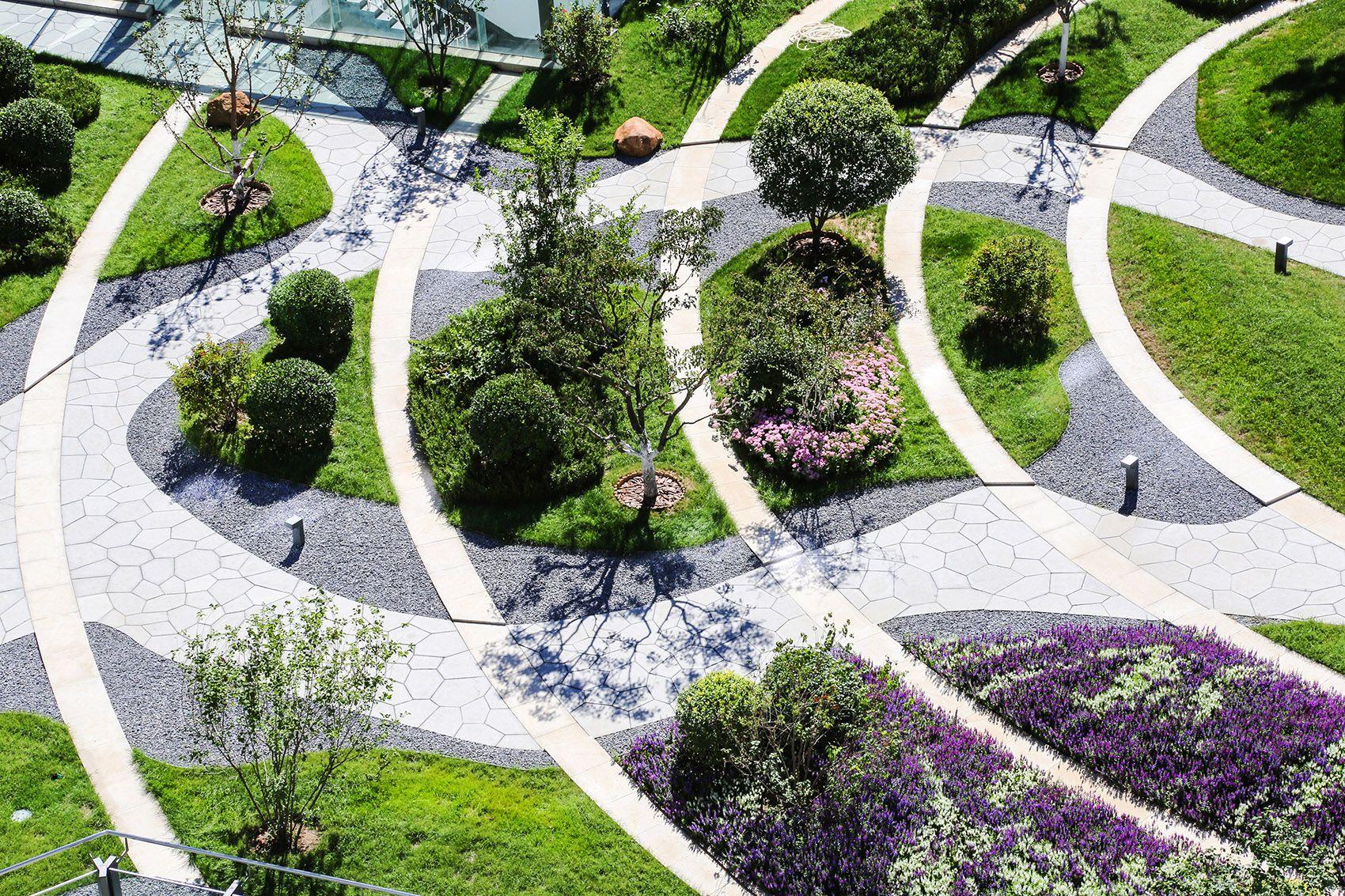 004 Central Gardenscape For Taikang Business School By Farmerson Architects Jpg 1700 1133 Landshaftnaya Arhitektura Gorodskaya Arhitektura Landshaft