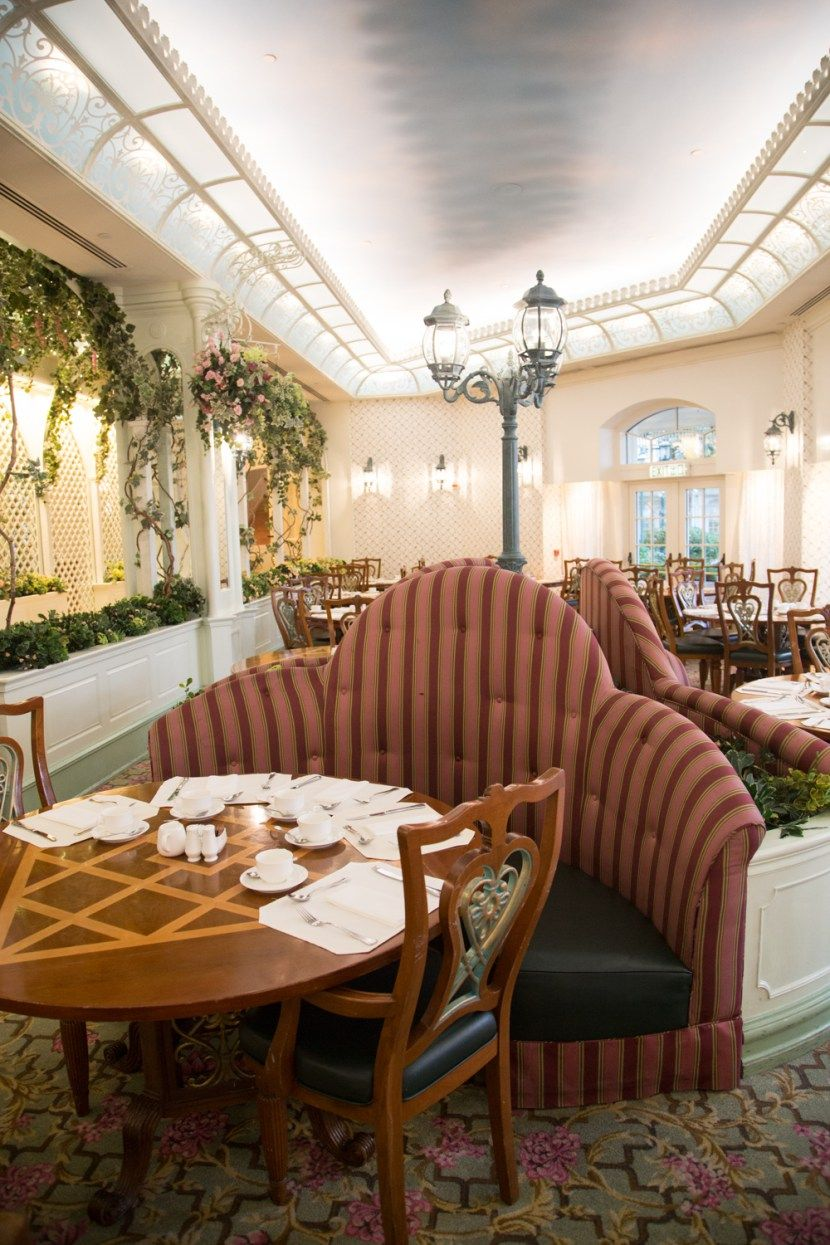 Enchanted Garden Restaurant Hong Kong Disneyland Hotel
