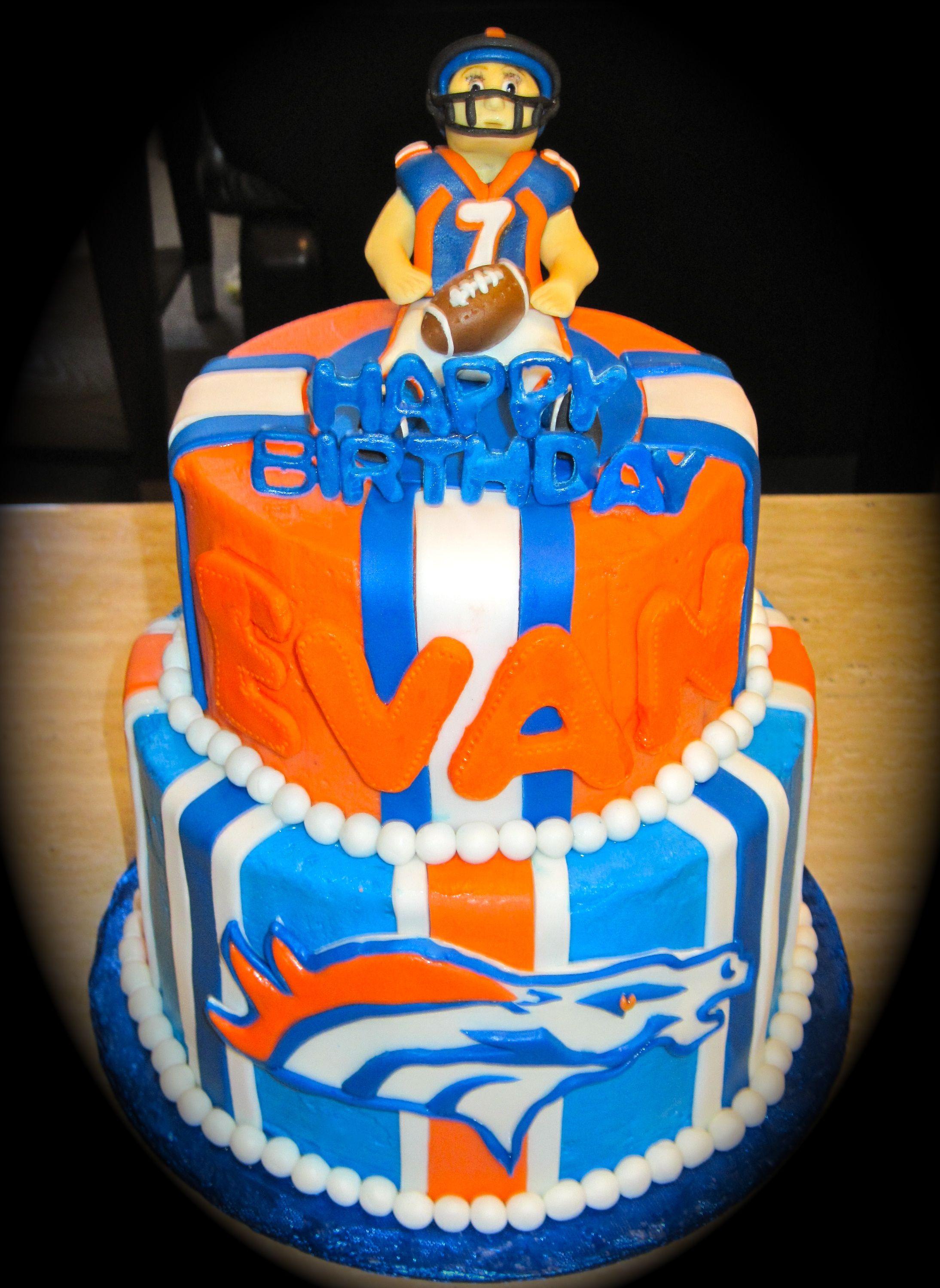 Broncos Cake Denver