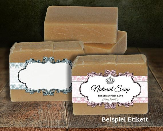 Soap Labels Printable Editable Label Band Floral Vintage Style