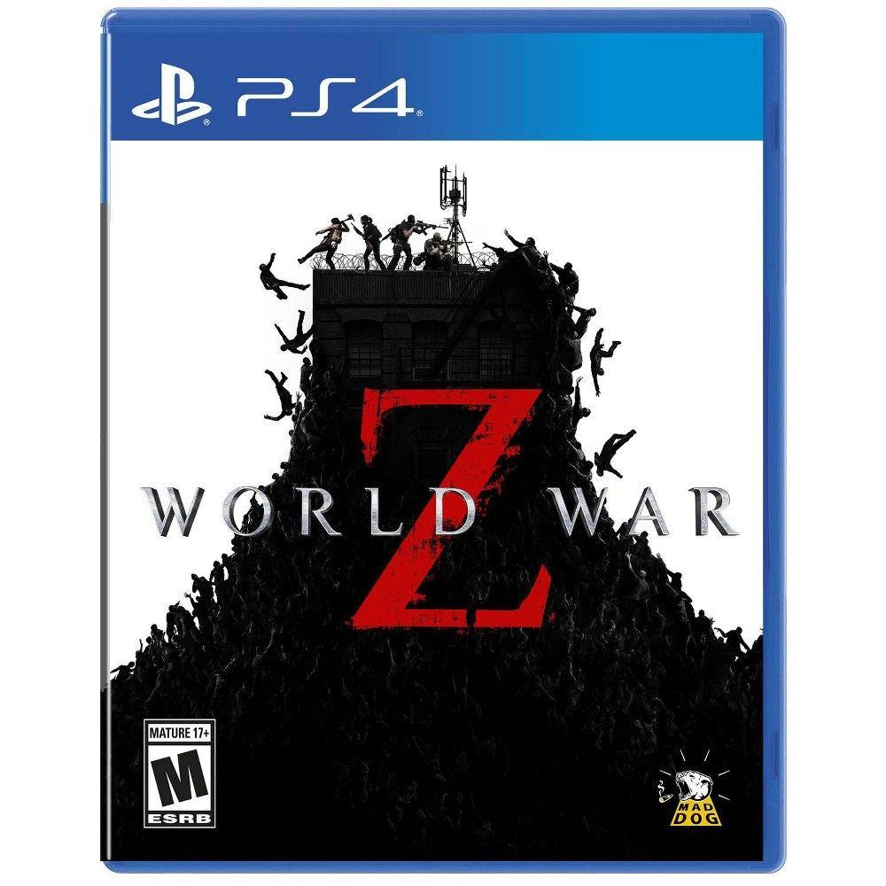 World War Z Playstation 4 Xbox One Games World War Playstation
