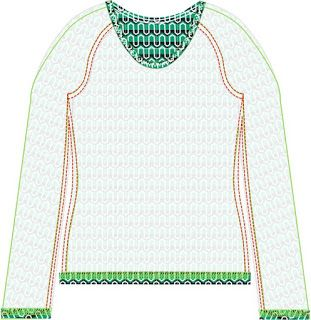 Small Dreamfactory - free sewing patterns and tutorials: Sewing pattern and tutorial Women's Raglan T-shirt