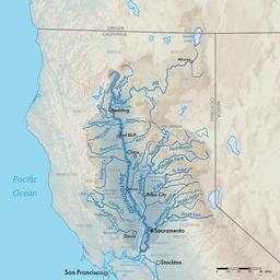 Sacramento River On Us Map Sacramento River | Sacramento river, Lakes in california, Lake