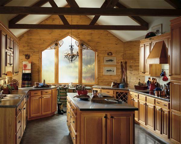 hickory cabinet kitchens | Hickory Kitchens | Hickory | Pinterest