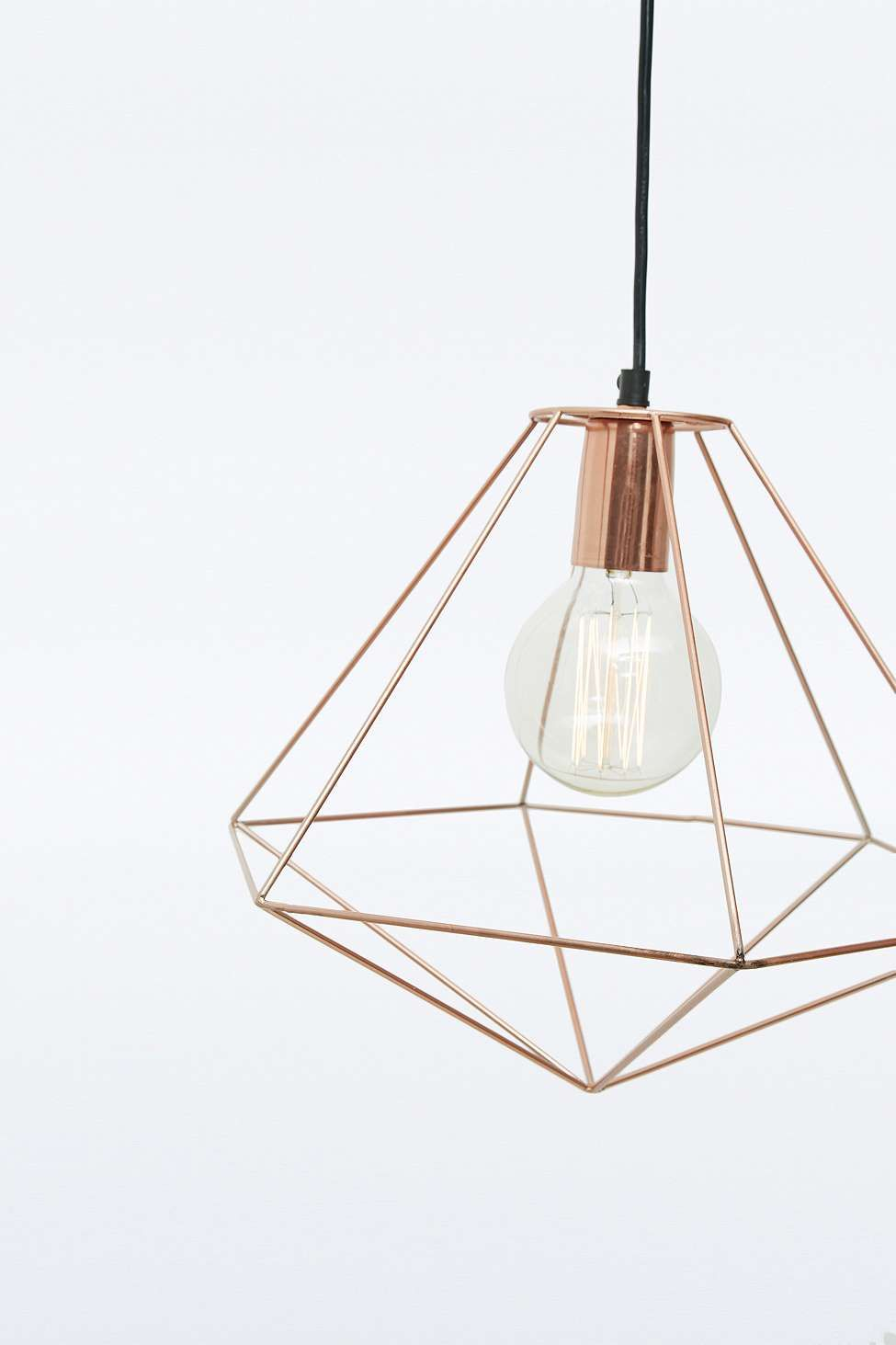 Geometric Pendant Lampes LightLuminaires Deco Copper Rq34jL5Ac