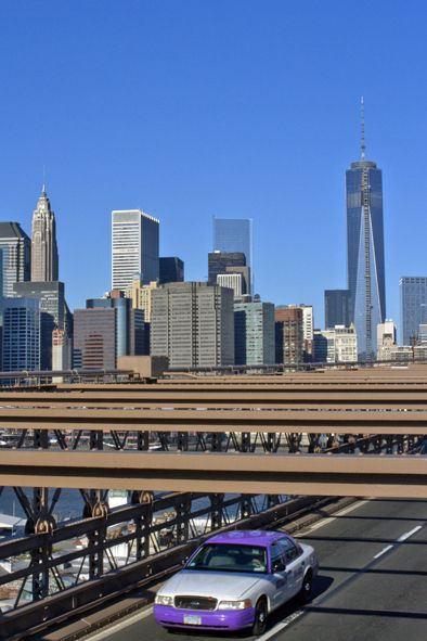 NYC. Brooklyn Bridge