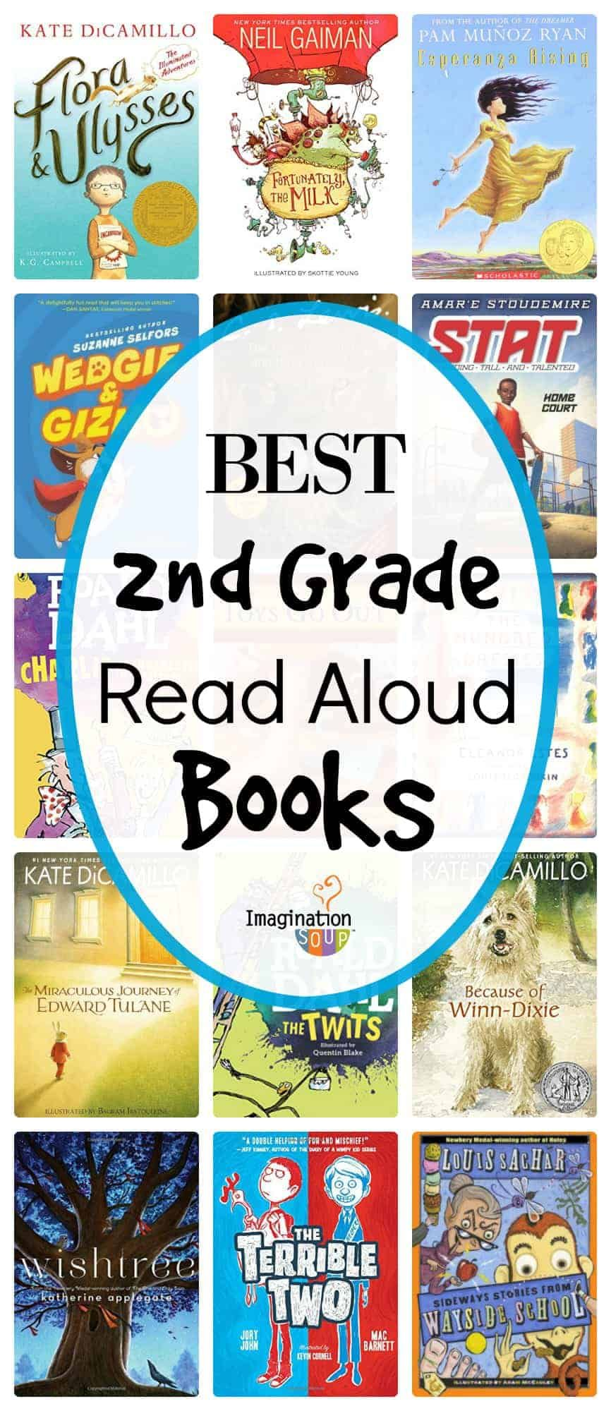 Amazing read aloud books for second grade 2nd grade