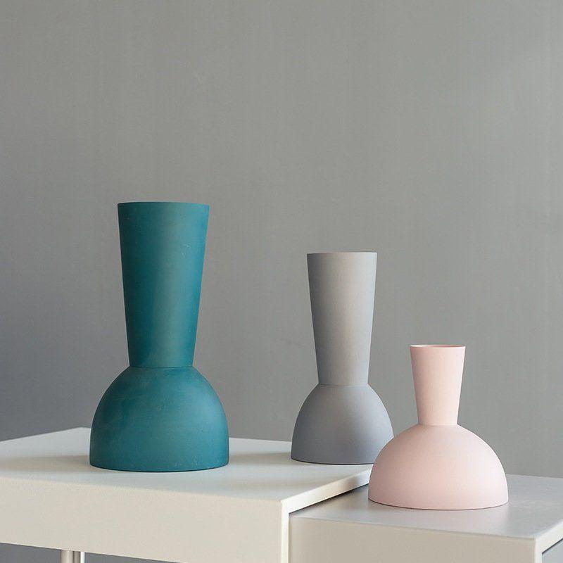 Scandinavian Design Nordic Handmade Minimalist Ceramic Modern Vase Pottery Decoration Wedding Porcelain Ornam Ceramic Vase Handmade Vase Handmade Ceramics Vase