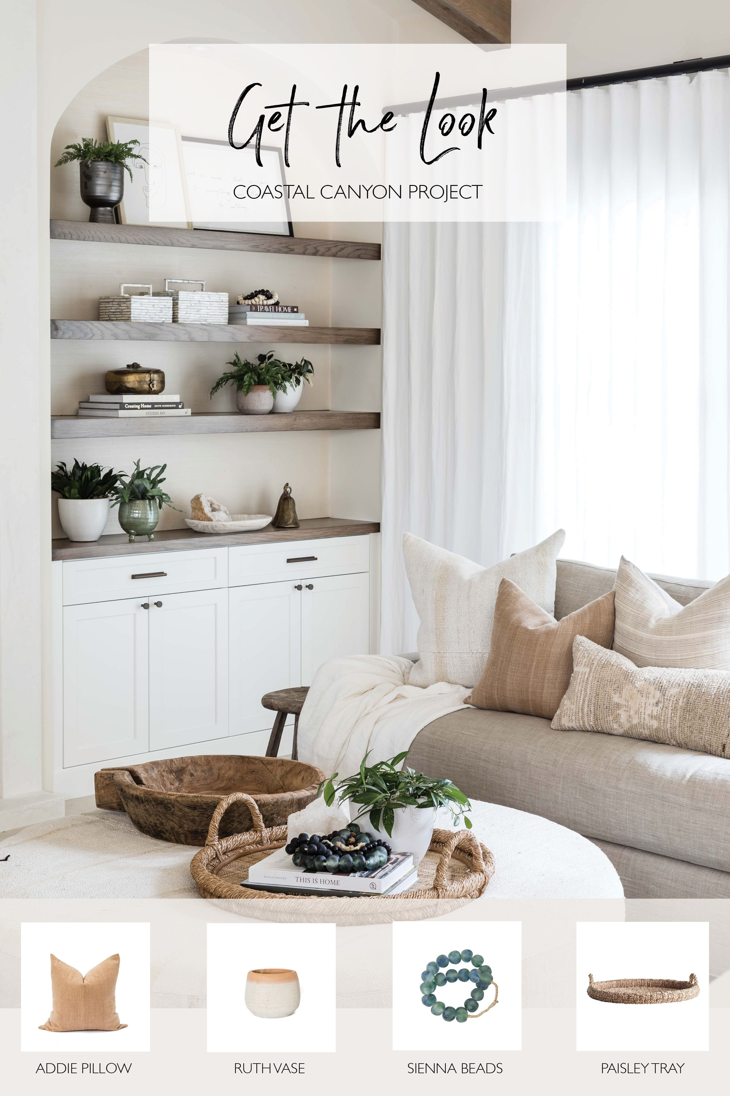 Get the look from our #coastalcanyonproject #LivingRoom #LivingRoomDesign #LivingRoomDecor #LivingRoomLayout #FamilyRoom #FamilyRoomDesign #FamilyRoomDecor #FamilyRoomLayout #Couch #LargeCouch #FamilyRoomCouch #LivingRoomCouch #OpenConcept