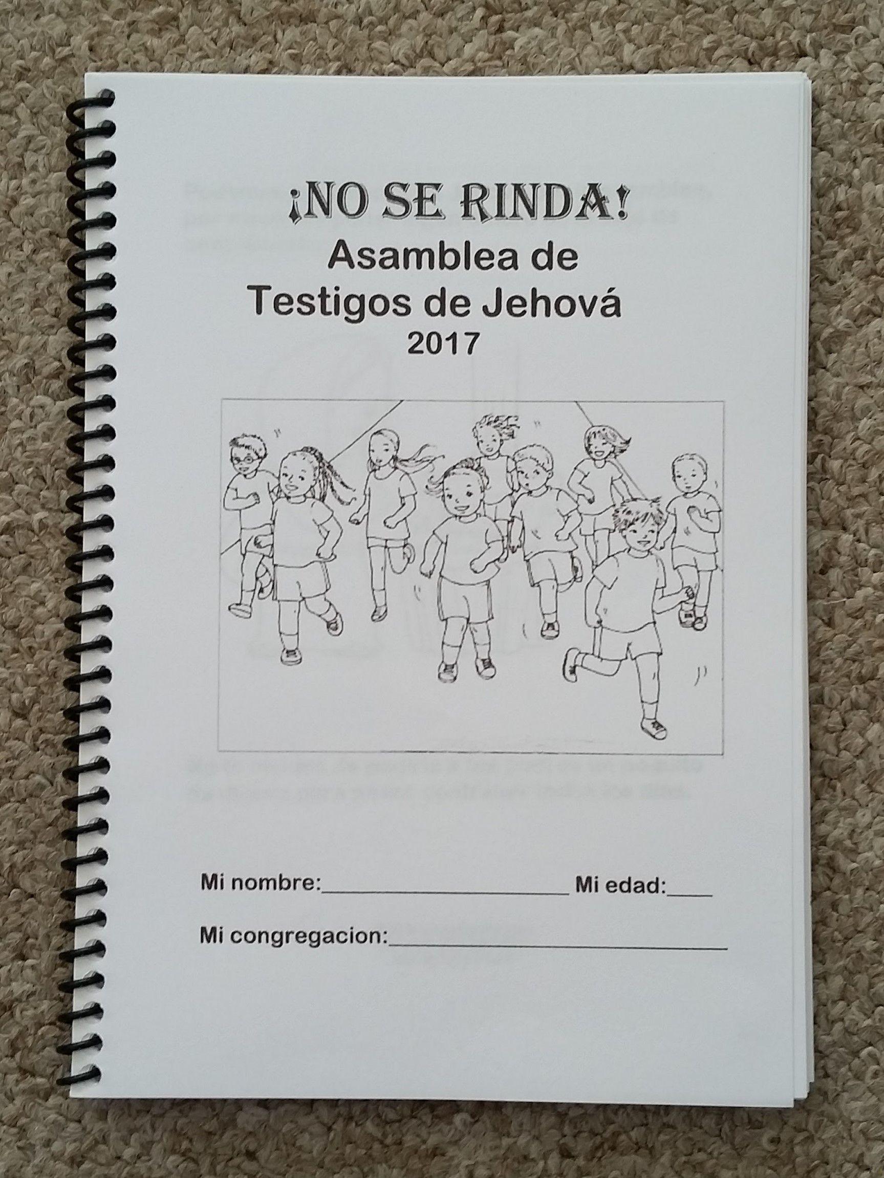 SPANISH 6-12yo Notebook No Se Rinda Espanol Asamblea Activity Sheets, My  Children,