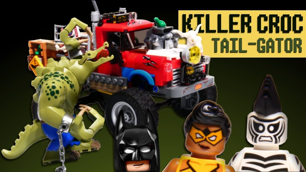how to build lego batman