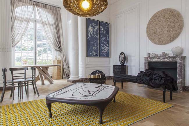 A Look Inside Karl Lagerfeld S Monaco Mansion With Images