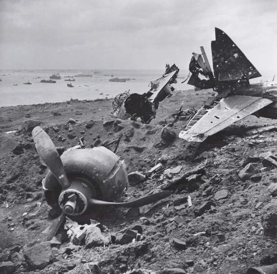<b>Unpublished. </b>An exemplar of a bitter, grueling land battle, Iwo Jima also saw prodigious air and sea power brought to bear as American and Japanese troops clashed over control of the tiny Pacific island. American forces finally captured Iwo Jima - and its two strategic airfields - in late March, 1945.