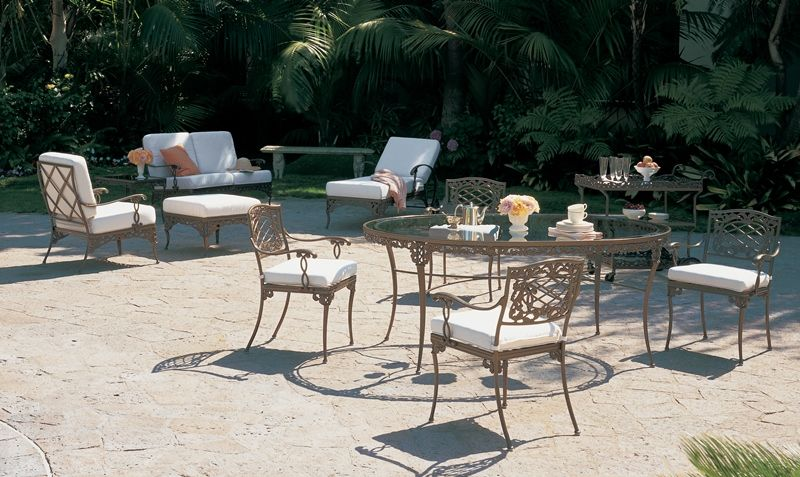 Elegance Collection From Brown Jordan Outdoorfurniture Florida