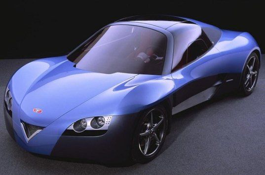 fetish electric sports car