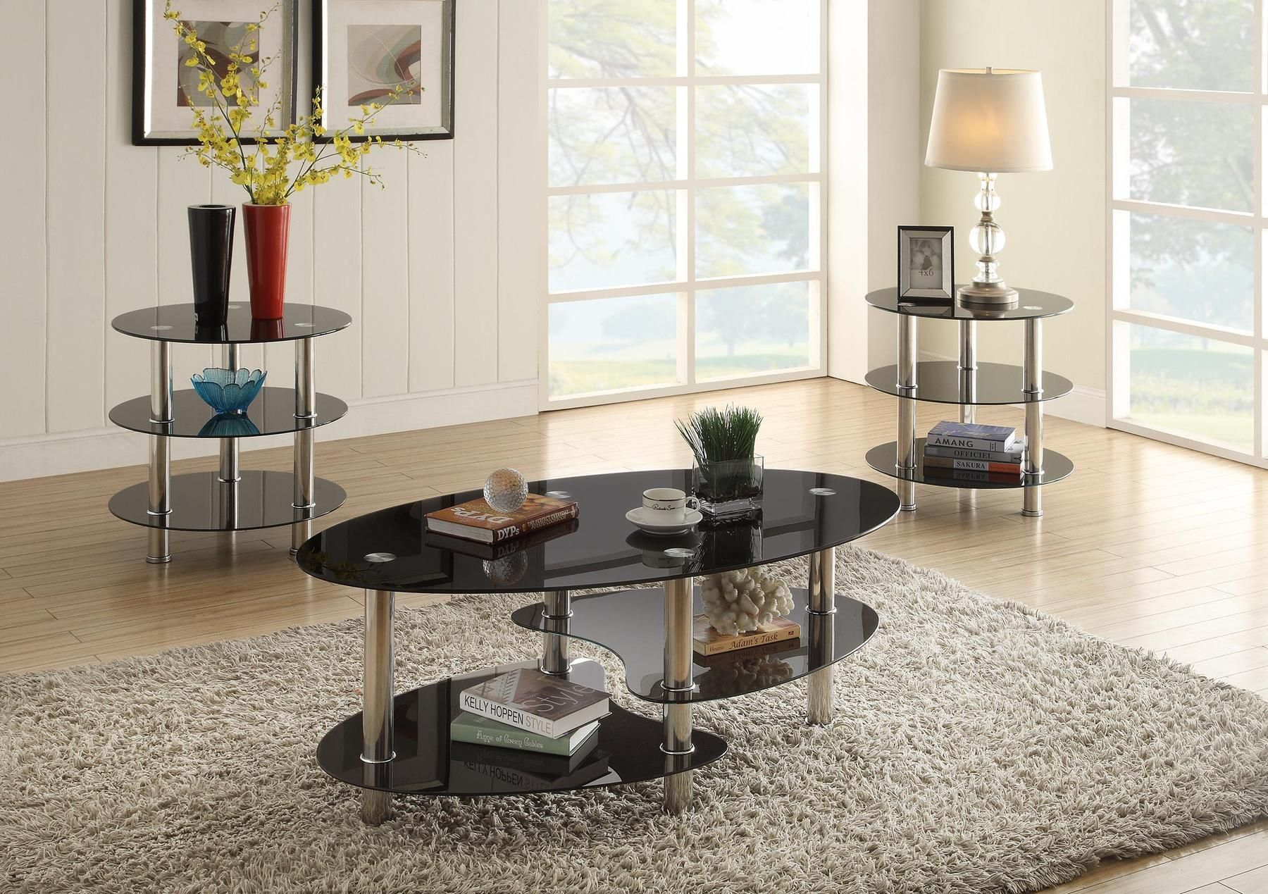 P3054 Coffee Table 2 End Tables In 2020 3 Piece Coffee Table