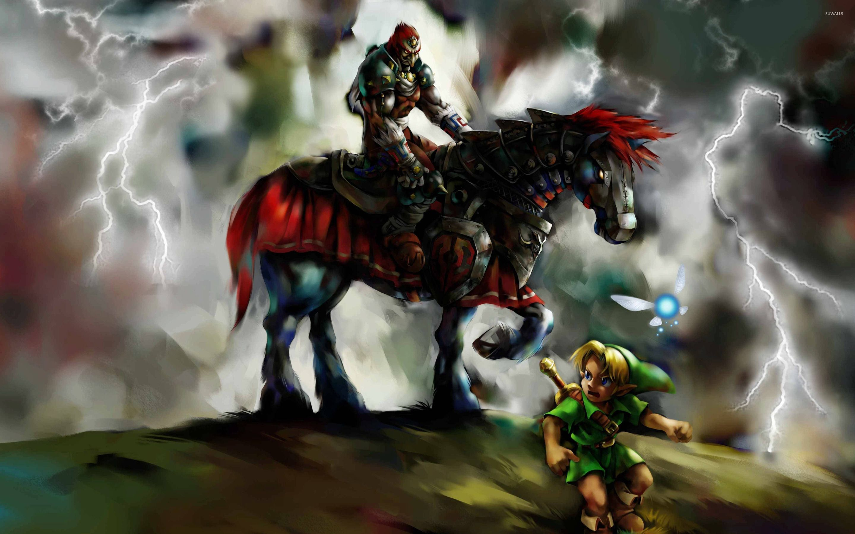 the legend of zelda ocarina of time wallpaper made from | hd