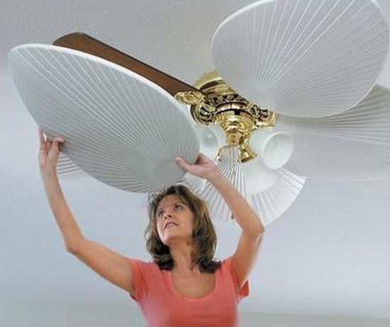 C mo decorar con un ventilador de techo ventiladores de for Como decorar un techo