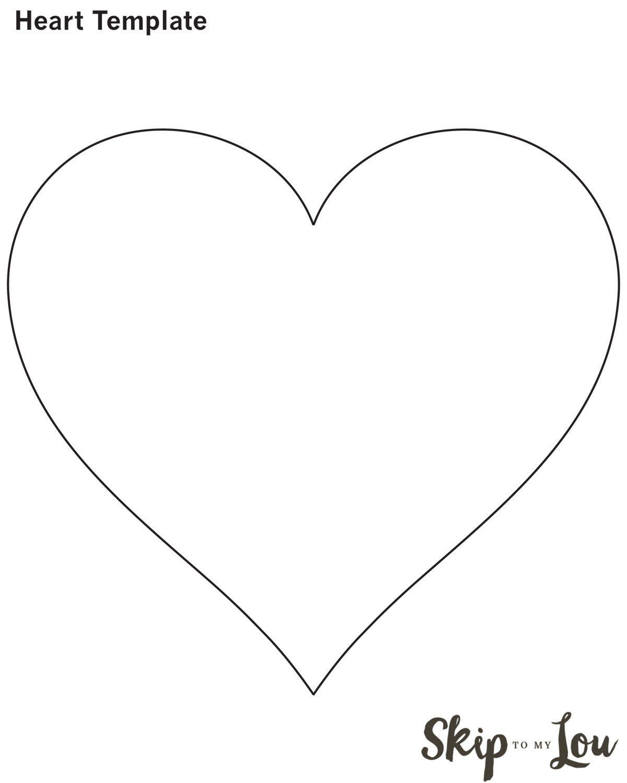 Unusual Printable Heart Pictures Valentine Idea