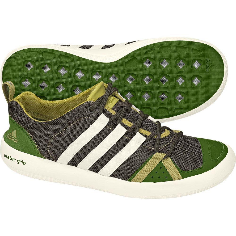 adidas shoes (oak/lime)