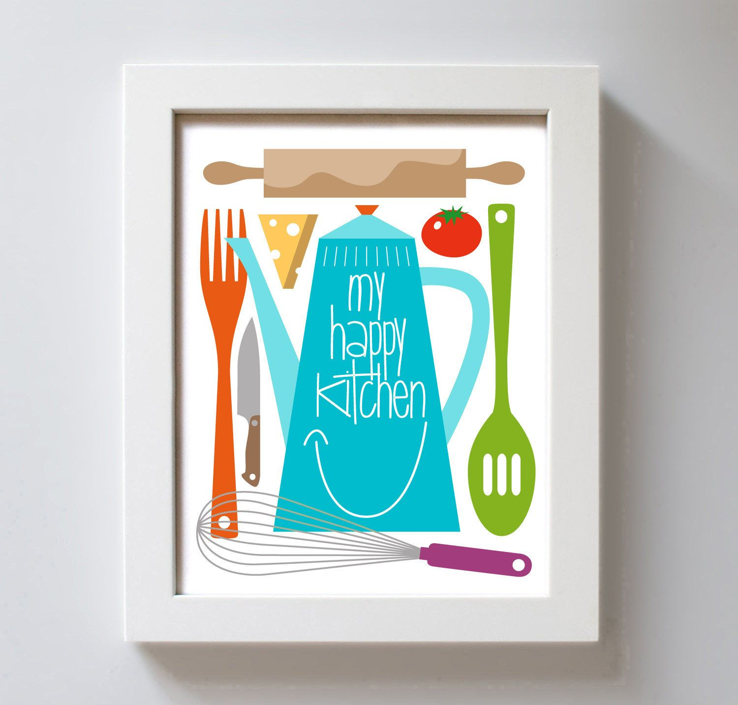 Art for Kitchen Art Print | Fun FINDS! | Pinterest | Kitchen art ...
