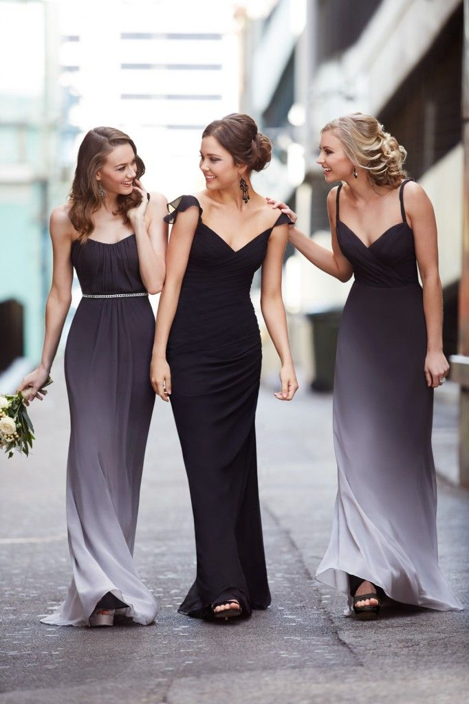 Sorella Vita Designer Series: Ombre nightfall bridesmaid dress #Ombre #bridesmaid