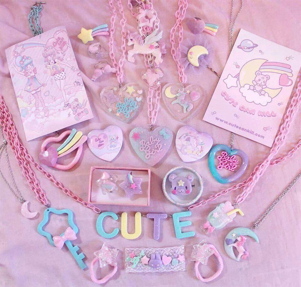 Cute Can Kill Accessories  Kawaii accessories, Kawaii jewelry
