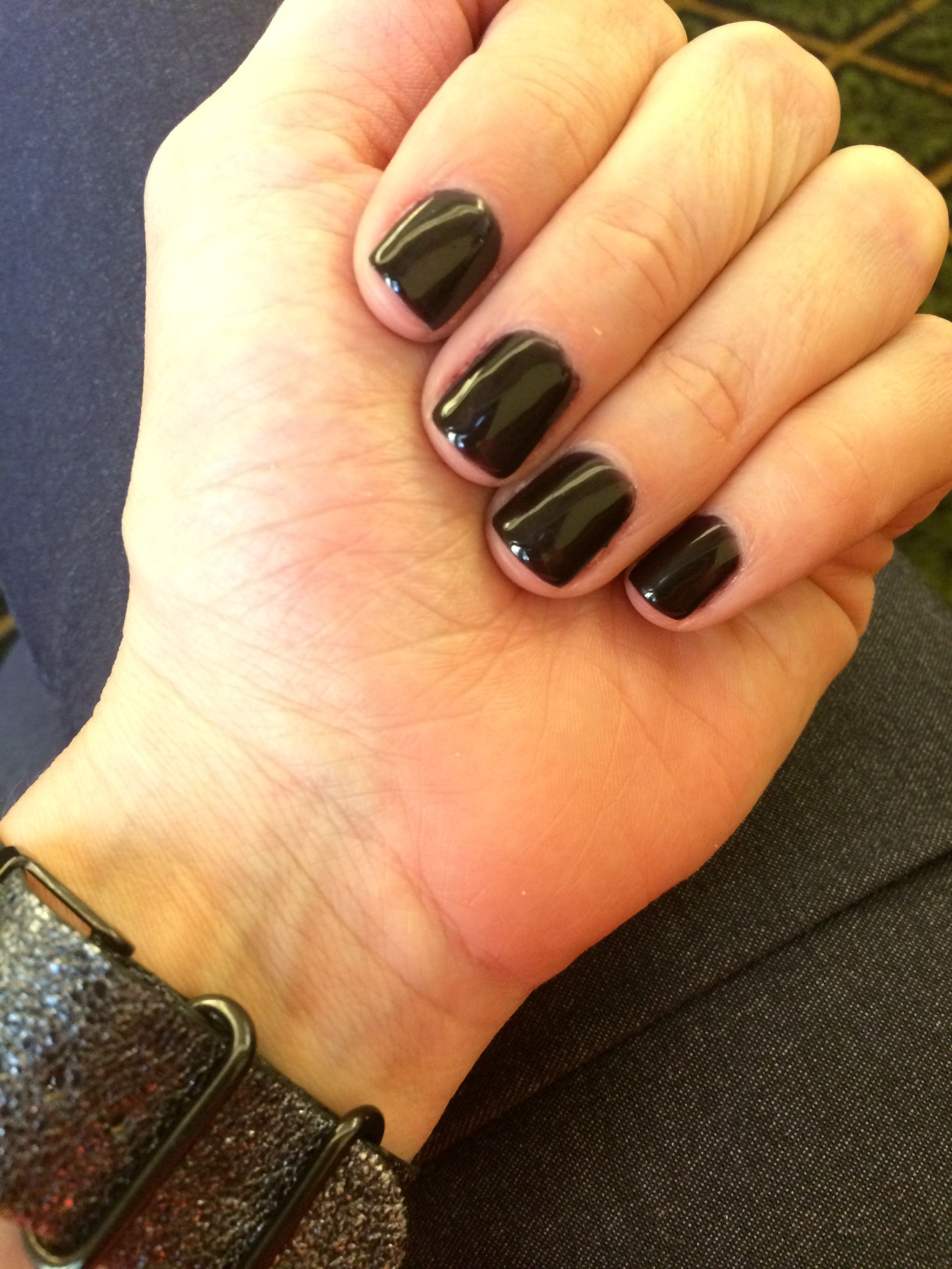OPI Gel nail color. (Lincoln Park After Dark)! My favorite dark ...