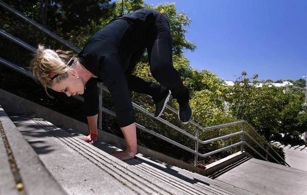 Stairs can provide optimal workout