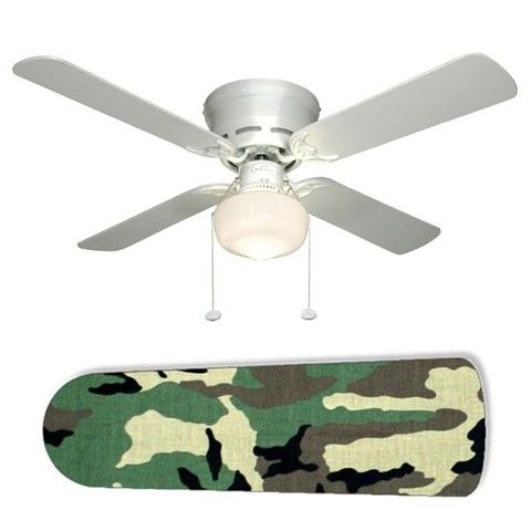Turn Boring Ceing Fan Into Military Camo Camoflauge By