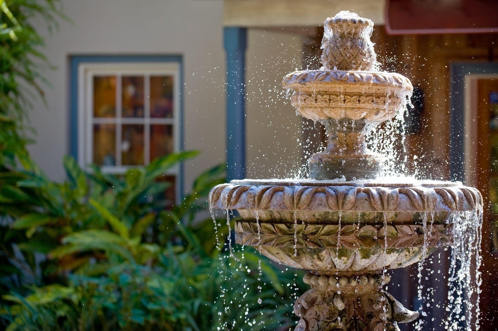 Una Fuente De Agua