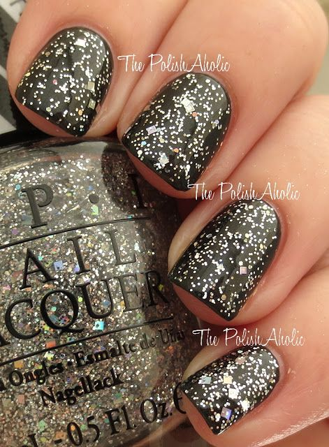 OPI - In True Stefani Style (shown here over OPI - 4 In The Morning)
