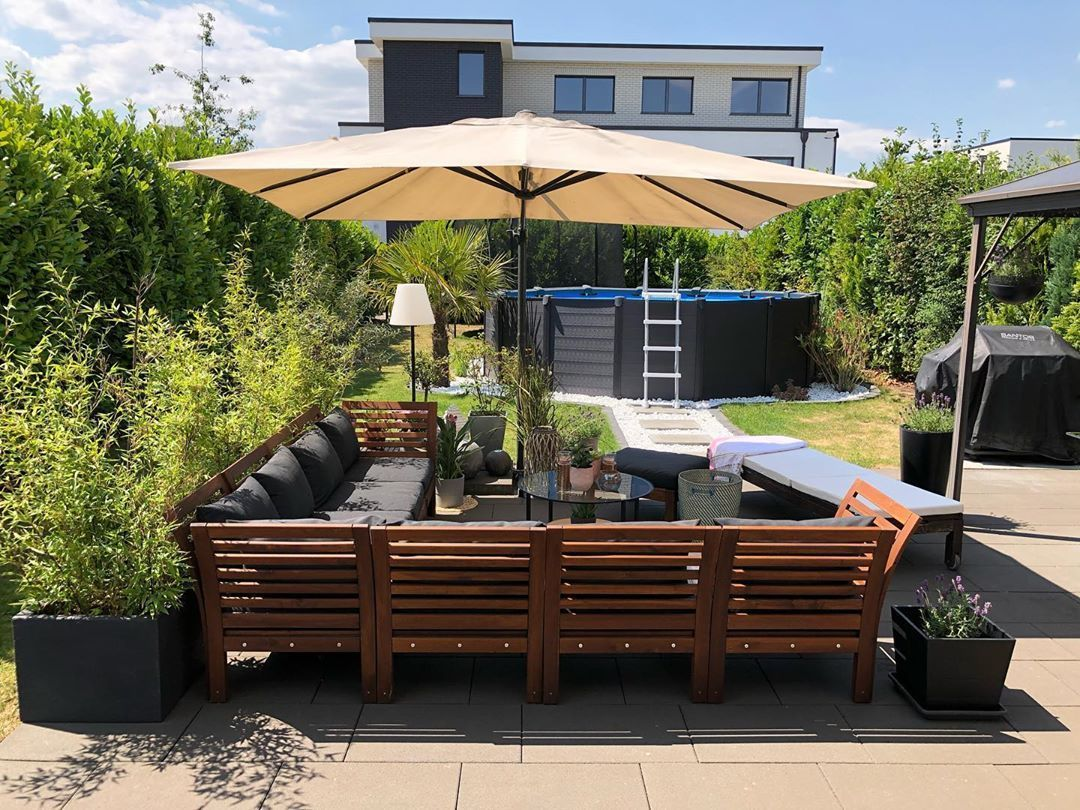 Garten Gartengestaltung Gartenideen Gartenmobel Ikea Mein Meingarten Sommer Wohnzimmer Mein Sommer W Ikea Lounge Home Grown Vegetables Courtyard Garden