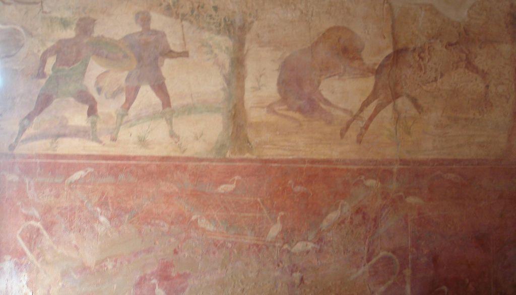 Villa Sileen, fresco