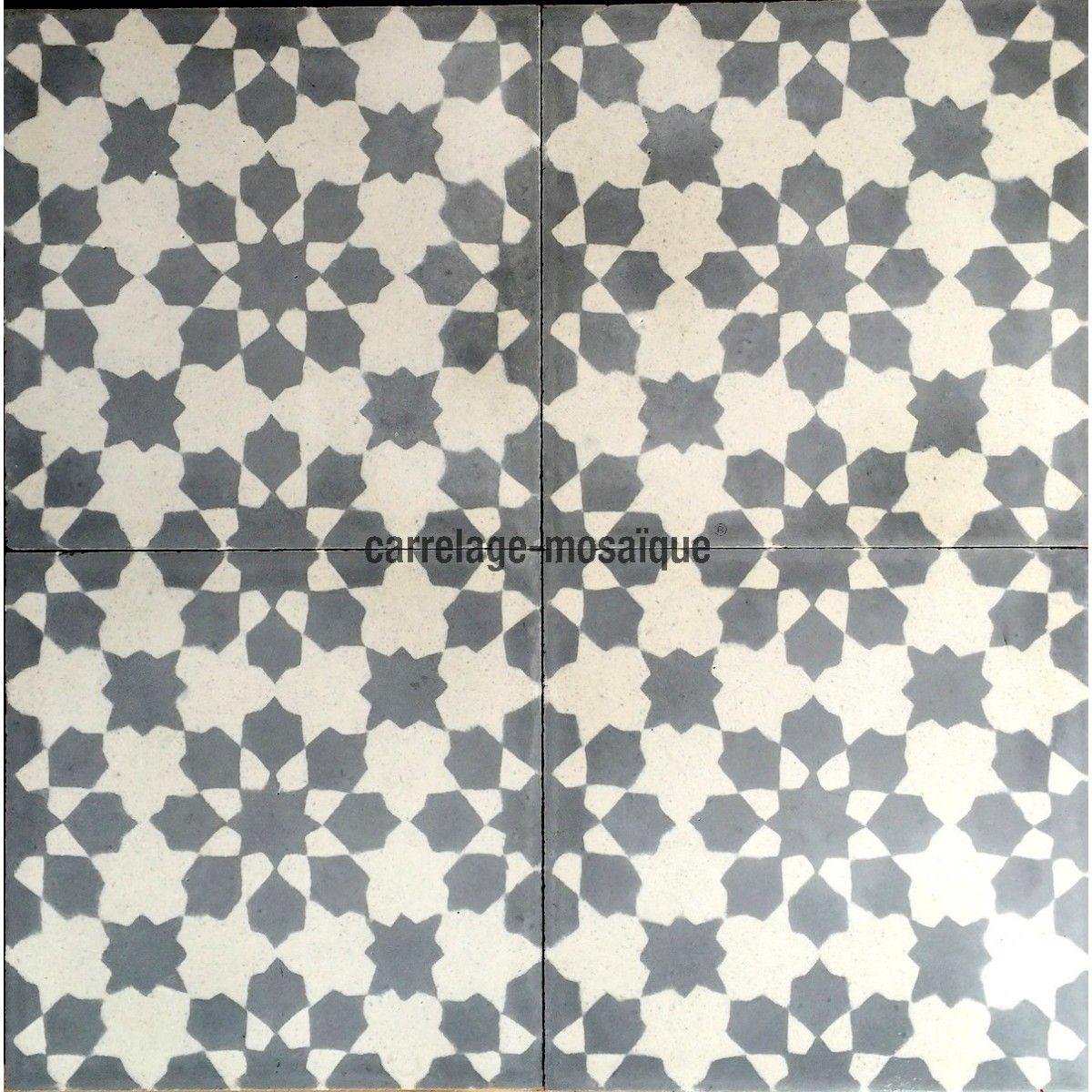 carreaux carrelage ciment 1m2 modele prisma gris carrelage mosaique carreaux ciment. Black Bedroom Furniture Sets. Home Design Ideas