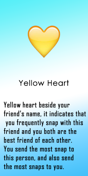 What Do The Snapchat Emojis Mean Snapchat Emojis Heart Emoji