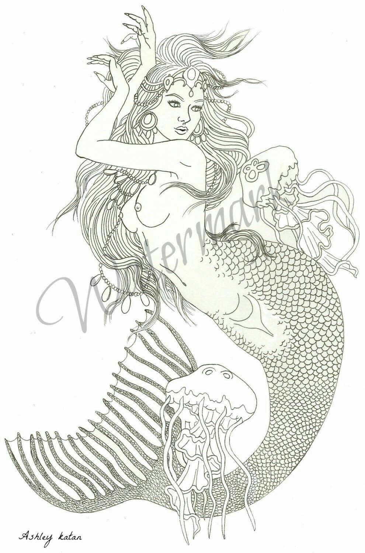 вечерние сумерки русалка из лукоморья картинки раскраски вьетнамские вислобрюхие