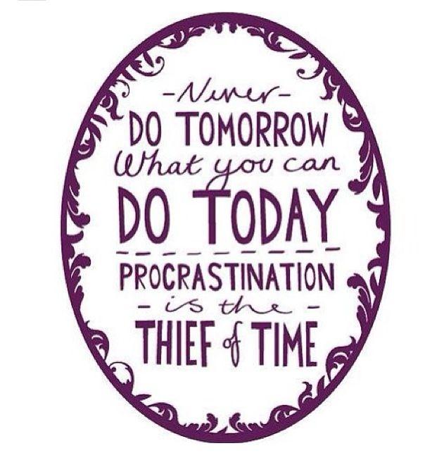 Phd thesis procrastination