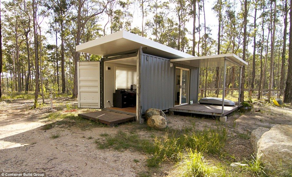 A simple self sustaining backyard granny flat with a 20 foot kitchen and bathroom costs a - Homes made from shipping containers cost ...