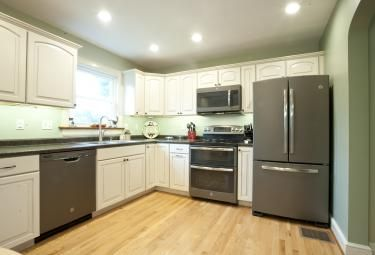 New Slate Appliances From Ge Www Isenhourhomes Com With Images