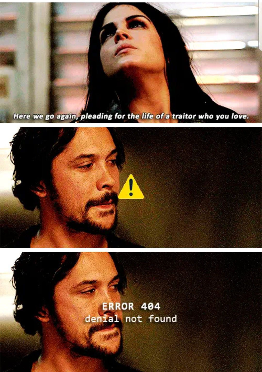 Error 404 Everyone The 100 Show The 100 Quotes The 100